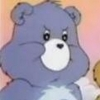 Care Bears Grumpy Bear headshot