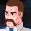 Galaxy rangers Commander Walsh headshot