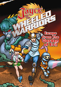 Cover Jayce and the Wheeled Warriors Garden of Evil dvd