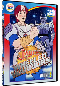 Cover Mill Creek Jayce and the Wheeled Warriors volume 2 dvd
