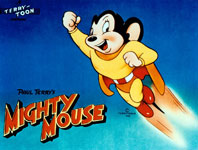 Mighty Mouse TV series logo